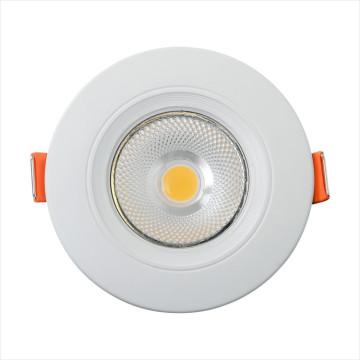 Espiga redonda da iluminação interna A superfície ultra magro montou 3w 4w 5w 6w Recessed 6w conduzido abaixo da luz