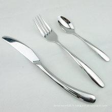 Ensemble de vaisselle de haute qualité Ensemble de dîner en acier