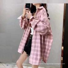 Hot Sale Ladies cotton blouse