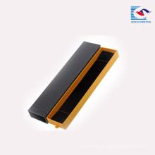 Sencai 2018 populaire personnalisé logo rectangle montre bracelet boîte de carton en carton avec de la mousse