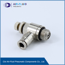 Air-Fluid Push-in Fittings (Metal) BSPP Thread