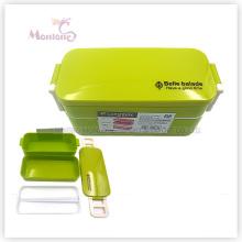 Boîte à bento en plastique pour enfants avec verrou (850ml)