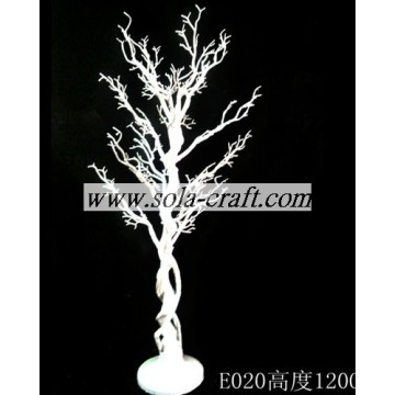 120CM PE Plastic Holiday Crystal Garland Tree With Branch