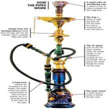 Manufacturer Price Hookah Shisha for Smoking Daily Use (ES-HK-068)