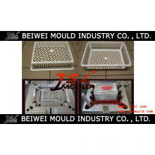 Plastic Injection Storage Basket Mould