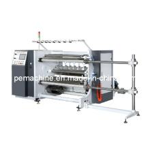 Machine de découpe à grande vitesse contrôlée à l'aide de PLC économique (300M / MIN)