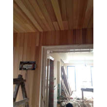 Red Cedar Ceiling Slat Without Knots