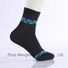 Clásico y moda hombre de negocios algodón calcetines vestir calcetines de algodón casual hecho de algodón fino