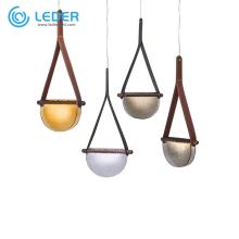 LEDER Bronze Glass Pendant Lamps