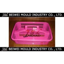 Microplaqueta plástica da injeção e molde da cesta do MERGULHO