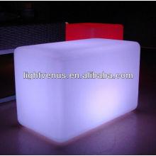 lighted acrylic led cube
