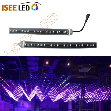Tube LED DMX 3D suspendu adressable de 500 mm