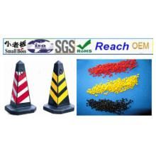 Material de cone de segurança de tráfego de PVC