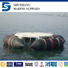 inflatable industrial building natural rubber marine boat salvage airbags