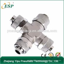 China supplier rpza brass union cross rpza rapid fittings