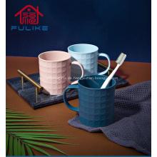 Kreative Student Zahnbürste Tasse Paar Waschbecher