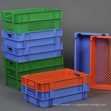 Пантон зеленый Retroflected Установка контейнера для овощей перевозок/пластиковые вставки контейнера