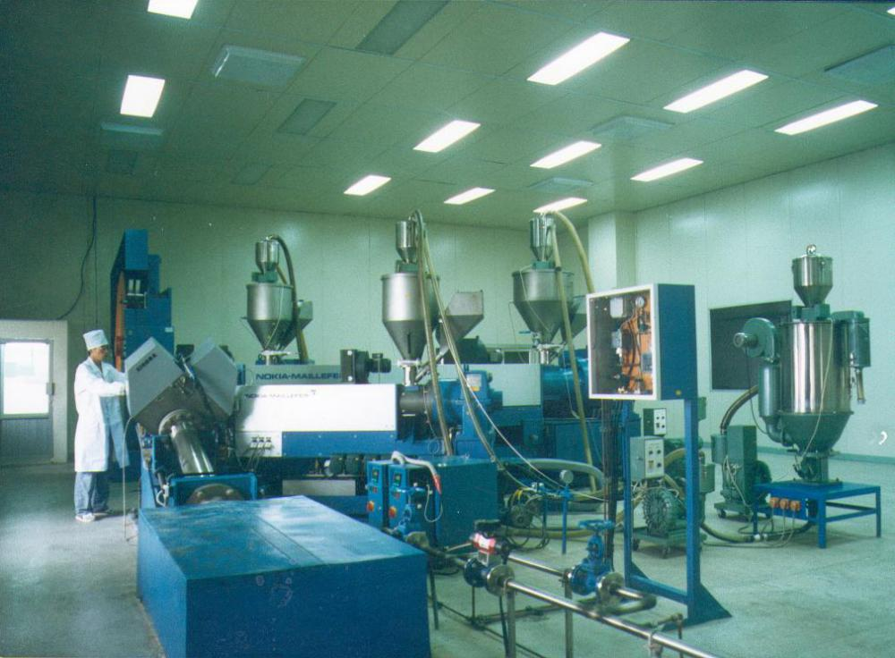 CCV XLPE insulation Extruding line from Nokia-Maillefer in Finland high voltage