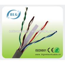 Cables de red interiores Cat6 cables aislados de PVC