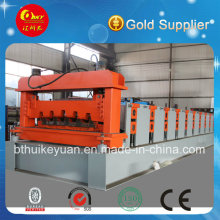 Machine de formage de rouleaux de plancher de plancher métallique Hky