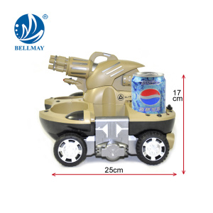 Cool Design and Hard Body Shell Rc Tank Built-in LED Headlamp RC Tank for Wholesale