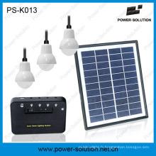 Système d'éclairage solaire d'application d'application d'Andhome à la maison pour la région hors-grille