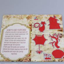 Corte de forma animal bonito estêncis presentes de enfeites de Natal para crianças 2016 fio decoração interior alibaba co uk chinas supplie
