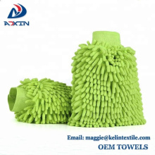 Luva da lavagem do Chenille do fornecedor de China / luvas da lavagem de carros / luvas da limpeza de Microfiber
