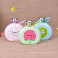 300ml lovely BPA free glass water bottle fruit a flat glass bottle
