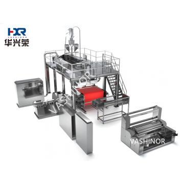 Línea de máquina de tejido soplado por fusión