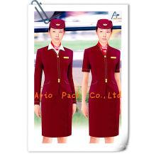 woman attendant uniform