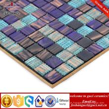 Telha de piscina interior e exterior de fornecimento de China Telha de mosaico exterior de base de ouro de fundição a quente