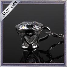 Colgante de moda de la joyería de la plata esterlina de la forma de la taza para Deacoration