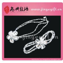 Shangdian Handcrafted accesorios de moda de China Handcraft Custom joyería nupcial conjunto
