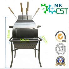 Parrilla de barbacoa portátil de acero inoxidable para exteriores con ISO9001: 2008