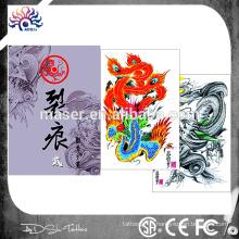 Fabriqué en Chine livre d'esquisse de tatouage chaud