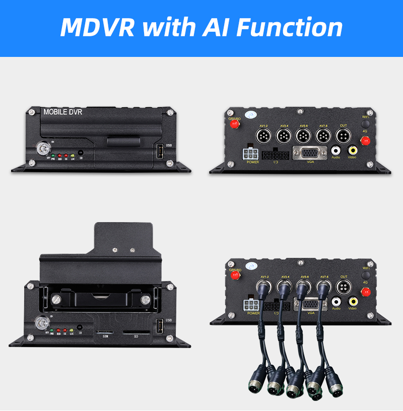 MDVR with AI Function