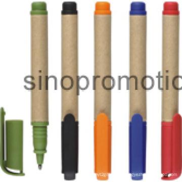 Cadeau à bille en plastique cadeau promotionnel Cliquez sur Mini stylo papier