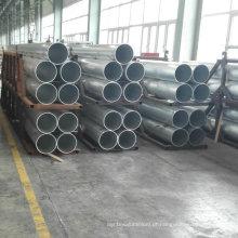 Tubo de liga de alumínio Finish Mill 6063 T5 T6