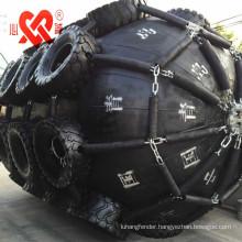 Small medium large yokohama type pneumatic rubber floating dock fender