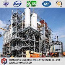 Structure en acier lourd pour installations industrielles
