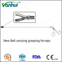 Bronchoskopie-Instrumente Neue Ball-Carrying Greifzange