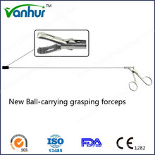 Bronchoscopy Instruments New Ball-Carrying Grasping Forceps