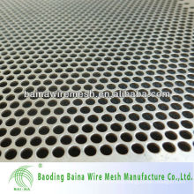 2016 free sample punching hole sheet in stock/square hole perforated metal sheet