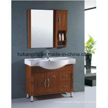 Gabinete de banheiro de madeira maciça / vaidade de banheiro de madeira maciça (KD-449)