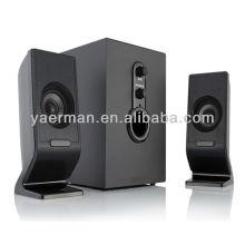 2.1 altavoces soporte usb / sd tarjeta / fm, altavoces de computadora baratos con subwoofer