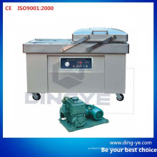 Máquina de embalaje de vacío de alimentos de doble cámara (DZQ600-2SB)