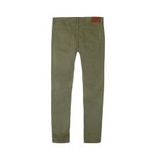 Мужские модные повседневные тканые брюки на молнии на заказ
