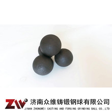 Hot rolling Forged grinding balls for cement 80mm