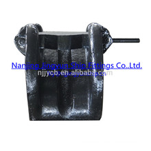 Mooring cast lever chain stopper